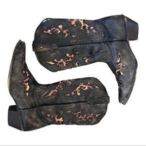 Laredo Aphfrinka western cowboy boots est 10 -10.5